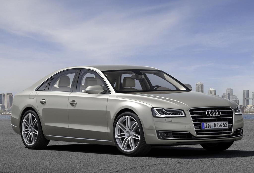 Audi A8 2015 Silver