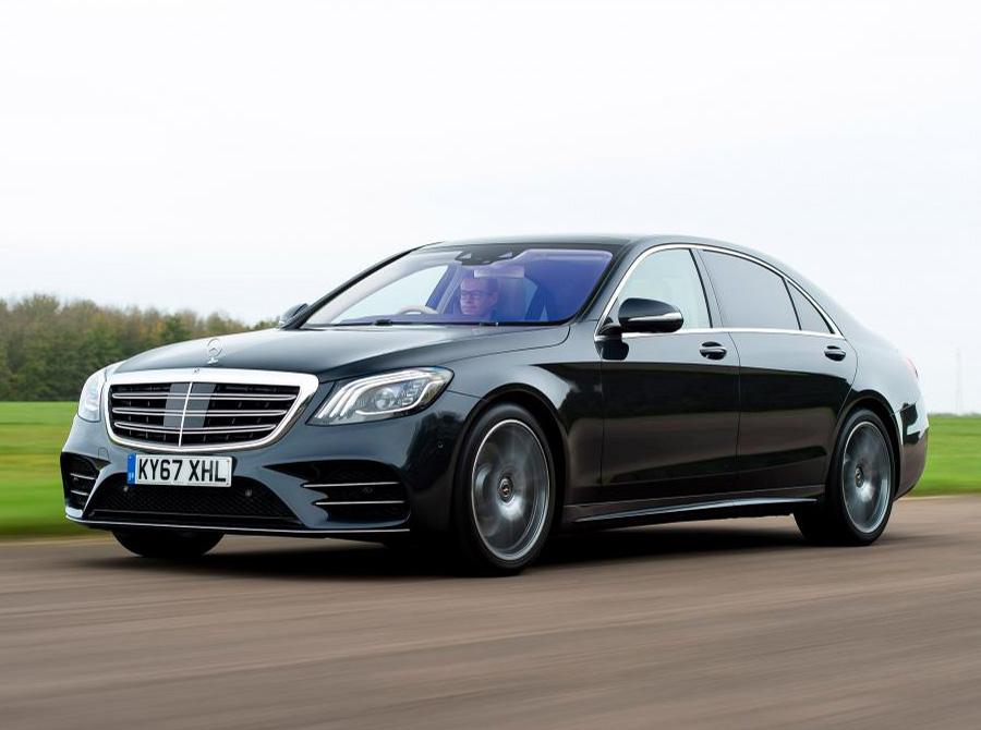 Mercedes S-Class car